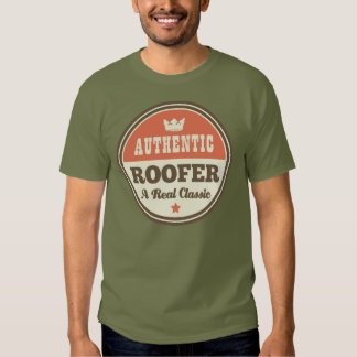 Authentic Roofer (Funny) Gift T Shirt