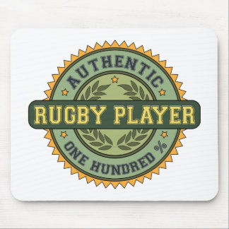 Authentic Rugby Player Mouse Pad