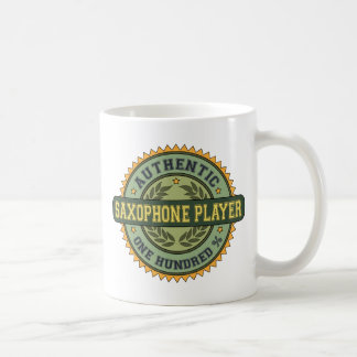 Authentic Saxophone Player Coffee Mugs
