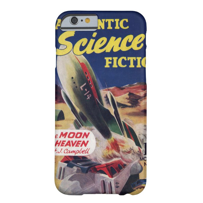Case Design pulp fiction phone case : ... Fiction 016 (1951-12.Hamilton)_P Barely There iPhone 6 Case : Zazzle