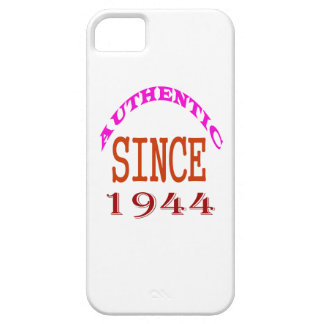 Authentic Since 1944 Birthday Designs iPhone SE/5/5s Case