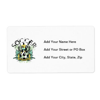 Authentic Soccer Tshirts and Gifts Label