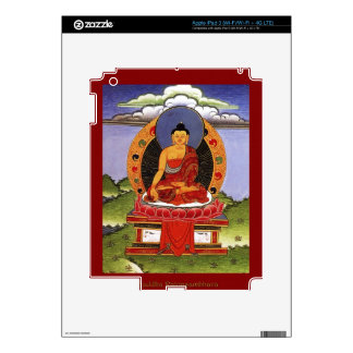 Authentic Spiritual Buddhist Art Images on Skins Decal For iPad 3