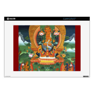 """Authentic Spiritual Buddhist Art Images on Skins Skins For 15"""" Laptops"""
