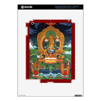 Authentic Spiritual Buddhist Art Images on Skins Skins For iPad 3