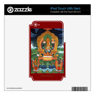 Authentic Spiritual Buddhist Art Images on Skins Skins For iPod Touch 4G