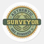 Authentic Surveyor Stickers