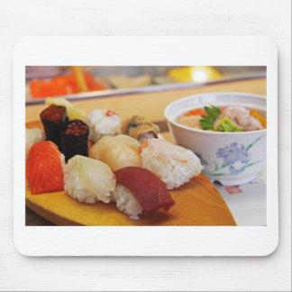 Authentic Sushi Sashimi Mouse Pad