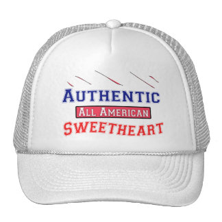Authentic Sweetheart Trucker Hat