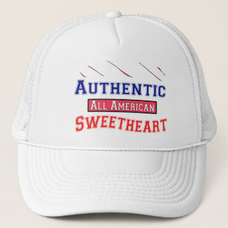Authentic Sweetheart Trucker Hat