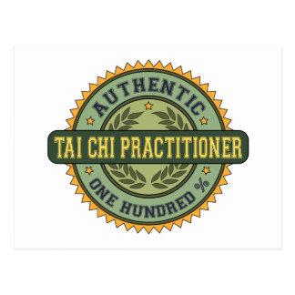 Authentic Tai Chi Practitioner Postcards