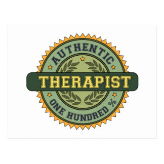 Authentic Therapist Post Card