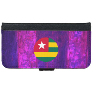 Authentic Togolese Flag iPhone 6 Wallet Case