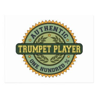Authentic Trumpet Player Post Cards