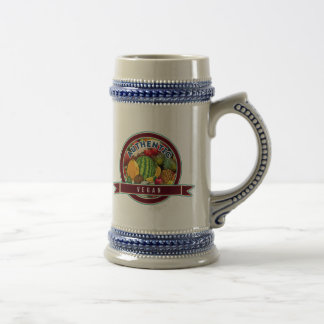 Authentic Vegan Beer Stein