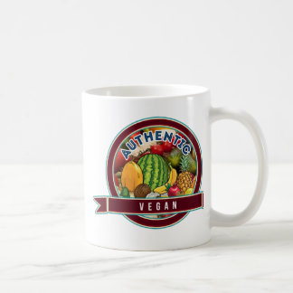Authentic Vegan Coffee Mug