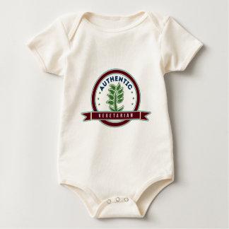 Authentic Vegetarian Baby Bodysuit