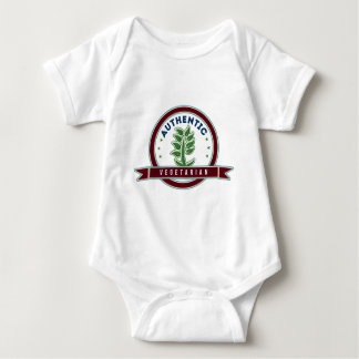 Authentic Vegetarian Baby Bodysuit