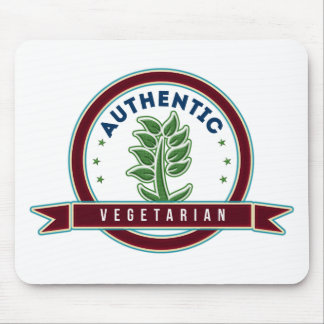 Authentic Vegetarian Mouse Pad