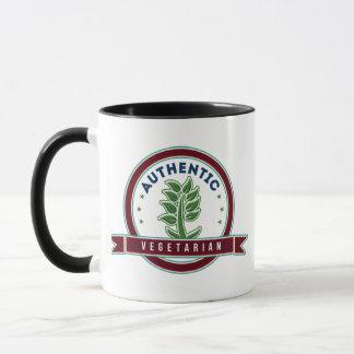 Authentic Vegetarian Mug