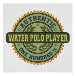 Authentic Water Polo Player Print
