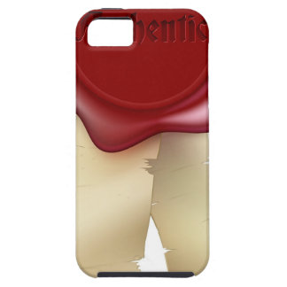 Authentic Wax Seal and ribbon iPhone 5 Covers
