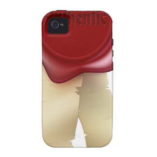Authentic Wax Seal and ribbon iPhone 4 Case