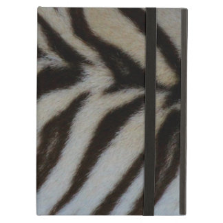 Authentic White Tiger Print Case For iPad Air