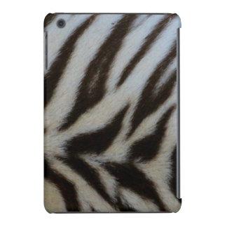 Authentic White Tiger Print iPad Mini Cover
