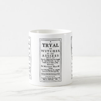 Authentic Witch Trials Poster Coffee Mug