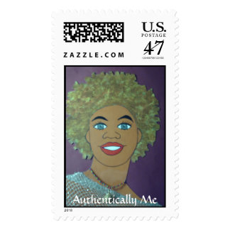 Authentically Me-Postage Stamp