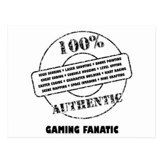 AuthenticGaming Fanatic Postcard