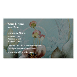 Authenticity Yellow flowers Double-Sided Standard Business Cards (Pack Of 100)