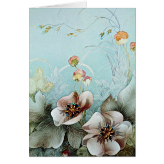 Authenticity Yellow flowers Greeting Card