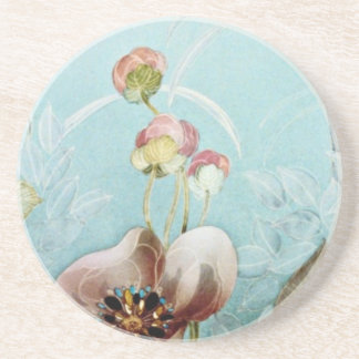 Authenticity Yellow flowers Coasters