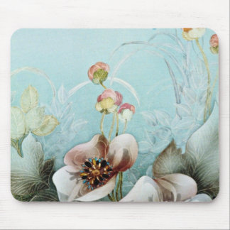 Authenticity Yellow flowers Mouse Pad