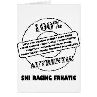 AuthenticSki Racing Fanatic Card