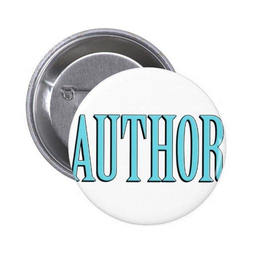 Author 2 Inch Round Button