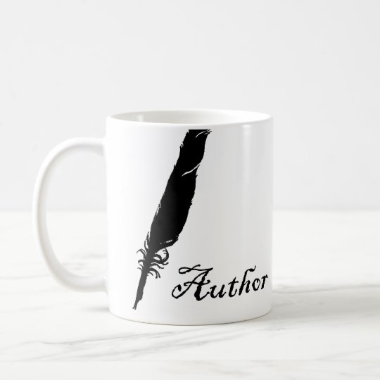 Author and Quill Coffee Mug