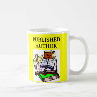 AUTHOR and writer, AUTHOR and writer Coffee Mug