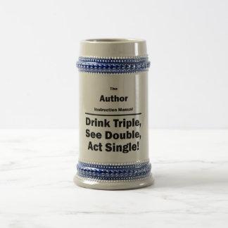author beer stein
