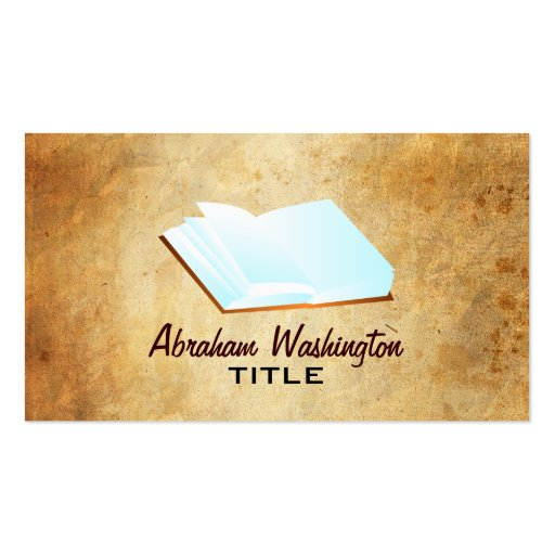 Author business cards zazzle for Author business card