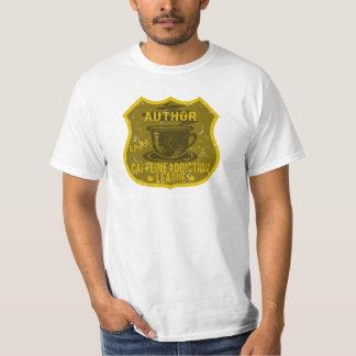 Author Caffeine Addiction League T-Shirt