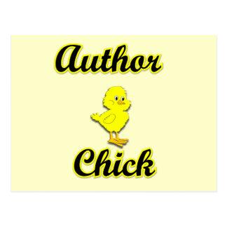 Author Chick Postcard