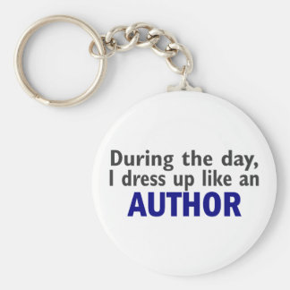 AUTHOR During The Day Basic Round Button Keychain