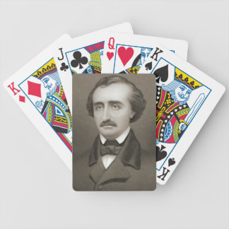 Author Edgar Allan Poe 1896 Bicycle Playing Cards