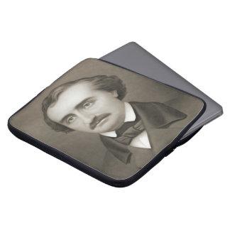 Author Edgar Allan Poe 1896 Laptop Sleeve