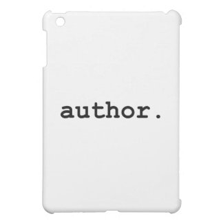 Author - For The Writer in Your Life iPad Mini Cover