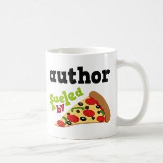 Author (Funny) Pizza Coffee Mug