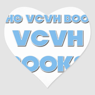 Author Michael Charles Millis VCVH BOOKS Heart Sticker